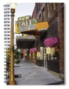 The Store Fronts Spiral Notebook