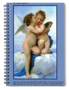 The Story Of Cupid And Psyche Spiral Notebook
