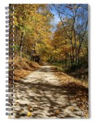 The Straight Road Spiral Notebook