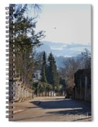 The Street In Upper Town 2 Spiral Notebook