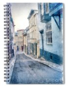 The Streets Of Old Quebec City Spiral Notebook