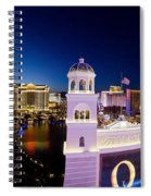 the Strip Las Vegas Spiral Notebook