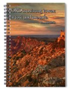 The Strong Tower Spiral Notebook
