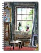 The Studio Of Juliet Pannett Spiral Notebook