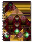 The Sublimation Of Desire Spiral Notebook