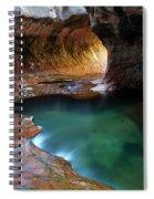 The Subway Sacred Light Spiral Notebook