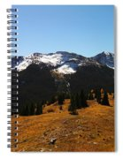 The Sugar Coated Mountains Spiral Notebook