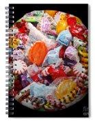 The Sugar Rush Baseball Square Spiral Notebook