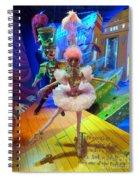 The Sugarplum Fairy Spiral Notebook