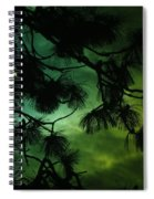 The Sun And Clouds Spiral Notebook