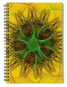 The Sun Spiral Notebook