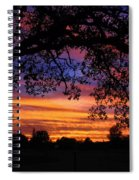 The Sun Sets For Mike Spiral Notebook