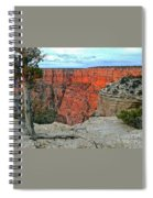 The Sun Shines On The Canyon Spiral Notebook