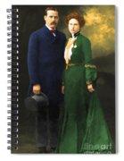The Sundance Kid Harry Longabaugh And Etta Place 20130515 Spiral Notebook