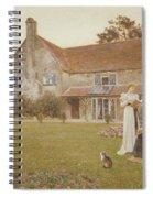 The Sundial Spiral Notebook