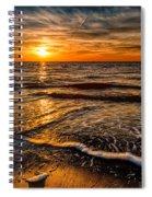 The Sunset Spiral Notebook