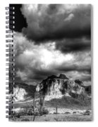 The Supes In Black And White  Spiral Notebook