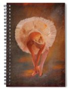 The Swan Warming Up Spiral Notebook