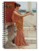 The Sweet Siesta Of A Summer Day Detail Spiral Notebook