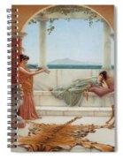 The Sweet Siesta Of A Summer Day Spiral Notebook
