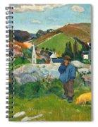 The Swineherd Spiral Notebook