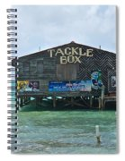 The Tackle Box Sign Spiral Notebook