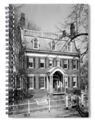 The Taft House - Brown University 1958 Spiral Notebook