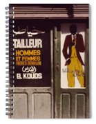 The Tailor Spiral Notebook