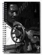 The Tailor - Tanzania Spiral Notebook