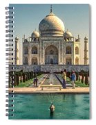 The Taj Maha Spiral Notebook
