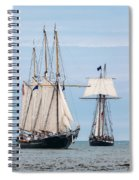 The Tall Ships Spiral Notebook