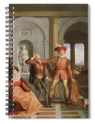 The Taming Of The Shrew Spiral Notebook