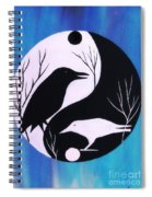 The Tao Of Crow Spiral Notebook