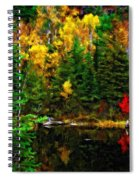 The Tarn Paint Version Spiral Notebook