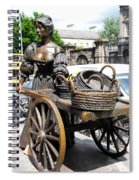 The Tart With The Cart Spiral Notebook
