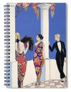 The Taste Of Shawls Spiral Notebook