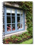 The Tea Room Spiral Notebook