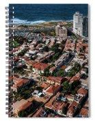 the Tel Aviv charm Spiral Notebook