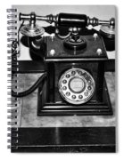 The Telephone Spiral Notebook