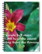 The Temple Bell Spiral Notebook