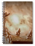 The Temple Dragon Spiral Notebook