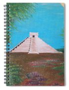 The Temple Of Kukulcan Spiral Notebook
