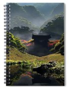 The Temple Of Perpetual Autumn Spiral Notebook