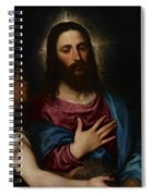 The Temptation Of Christ Spiral Notebook