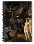 The Temptation Of Saint Anthony Spiral Notebook