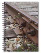 The Tenacity Of Nature Spiral Notebook
