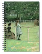 The Tennis Party Spiral Notebook
