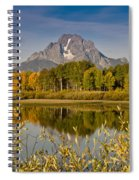 The Tetons And Fall Colors Spiral Notebook