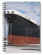The Texas Cargo Ship Spiral Notebook