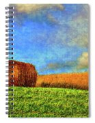 The Textures Of Autumn Spiral Notebook